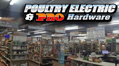 Poultry Electric and Pro Hardware